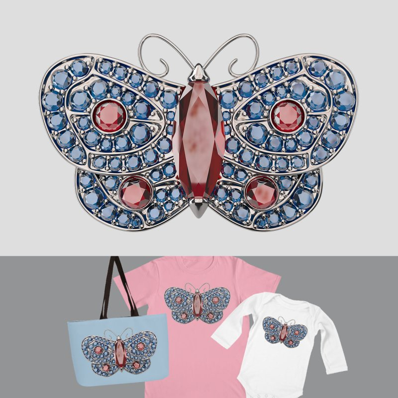 Enchanted Butterfly by Genius Design Lab's Artist Shop