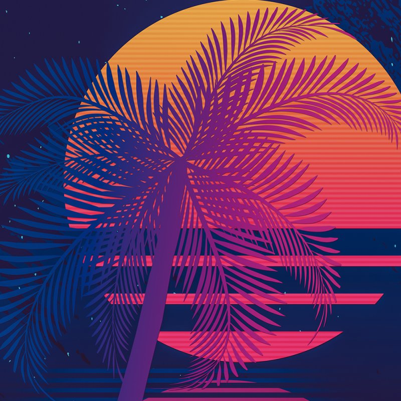 Sunset Dreams by Glitchway Store