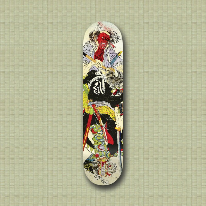 Gokudo x Kyousai Special Edition Deck in Deck Only Skateboard by Gokuten