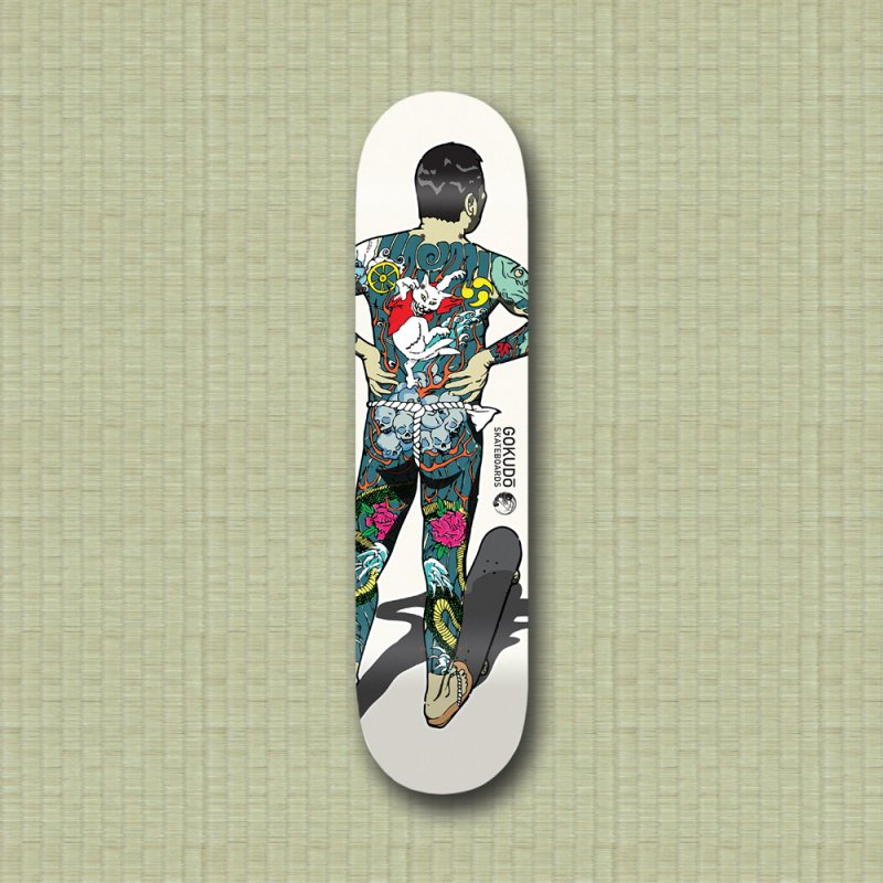 Gokudō [Brother Kawanabe] Enforcer Deck in Deck Only Skateboard by Gokuten