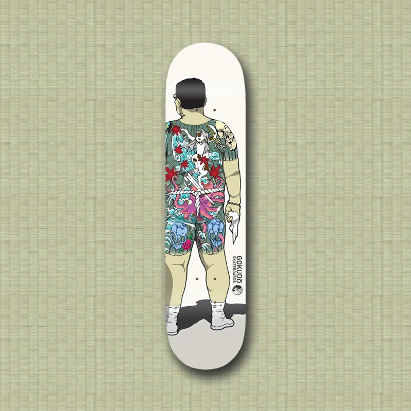 Gokudō [Brother Udagawa] Accountant Deck in Deck Only Skateboard by Gokuten
