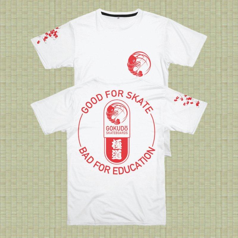 Good For Skate in Men's T-Shirt Cut & Sew by Gokuten
