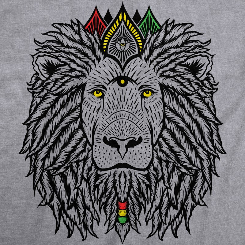ZION LION (rasta edition) by Highly Irie Future Inc