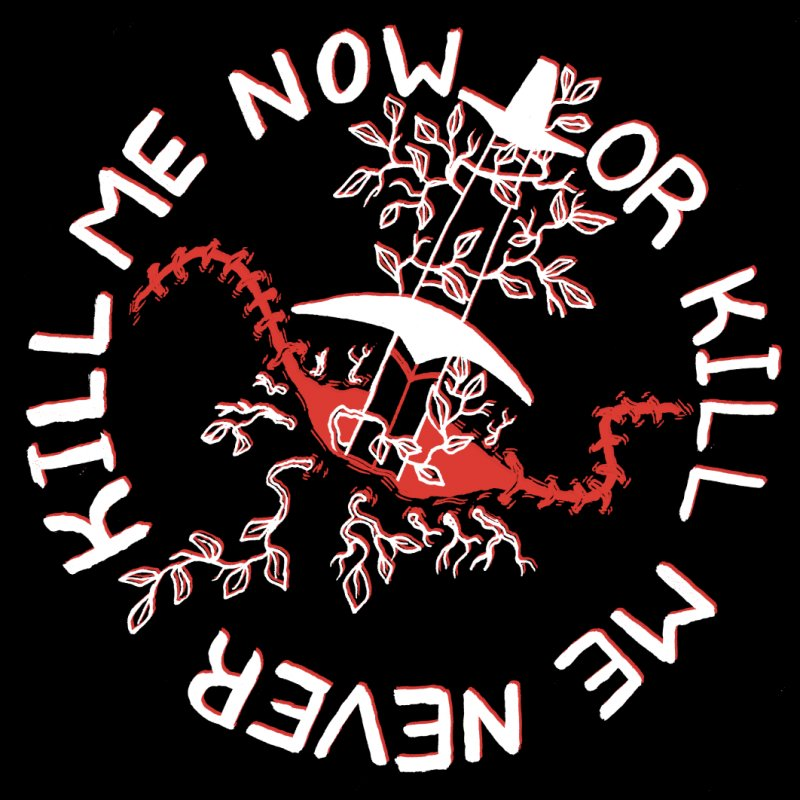 KILL ME NOW OR KILL ME NEVER in Men's Regular T-Shirt Gold by HIGU ROSE