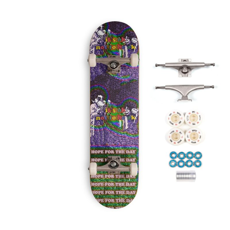 Zacq Rosen - SpreadTheWord! in Deck Only Skateboard by Hope for the Day Shop