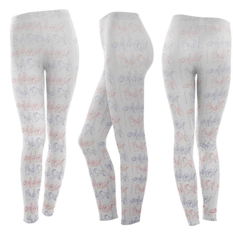 faded colors in Women's Leggings Bottoms by izzyberdan's Artist Shop