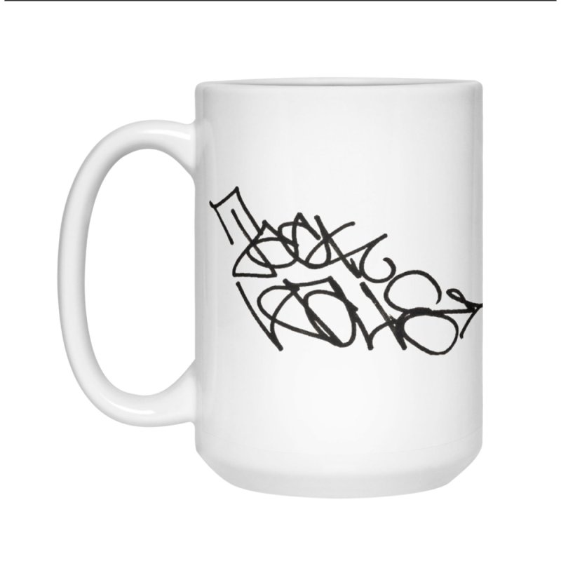Dash Snow/Jack Walls in Standard Mug White by Jack Walls
