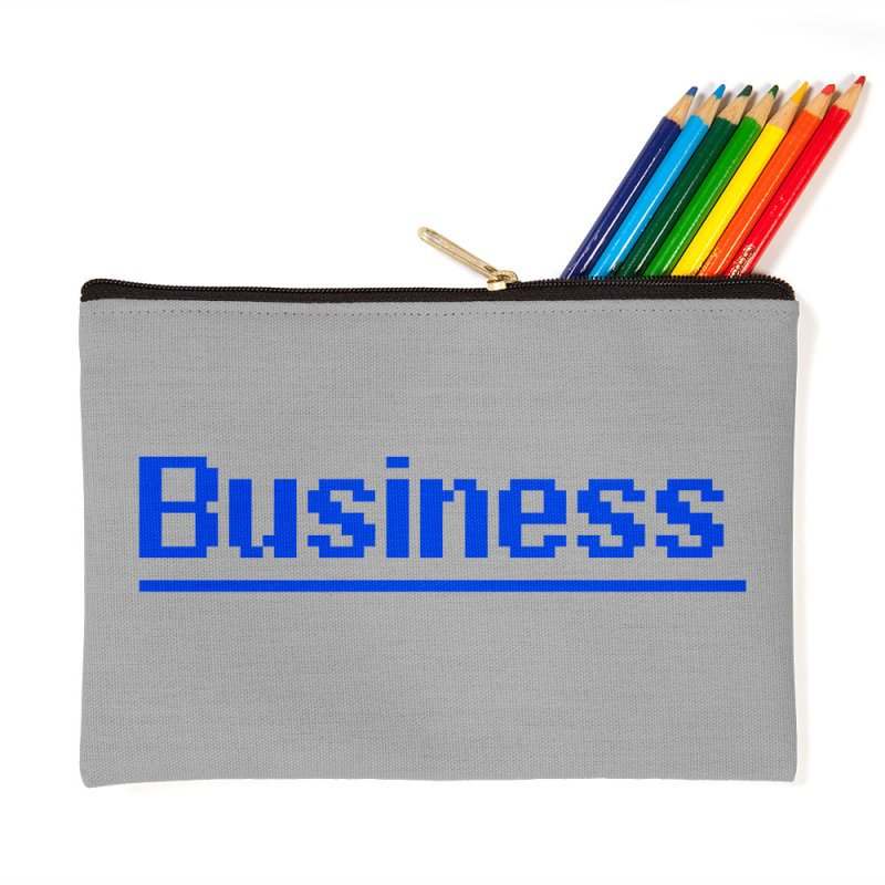 Business in Zip Pouch by Jake Nickell