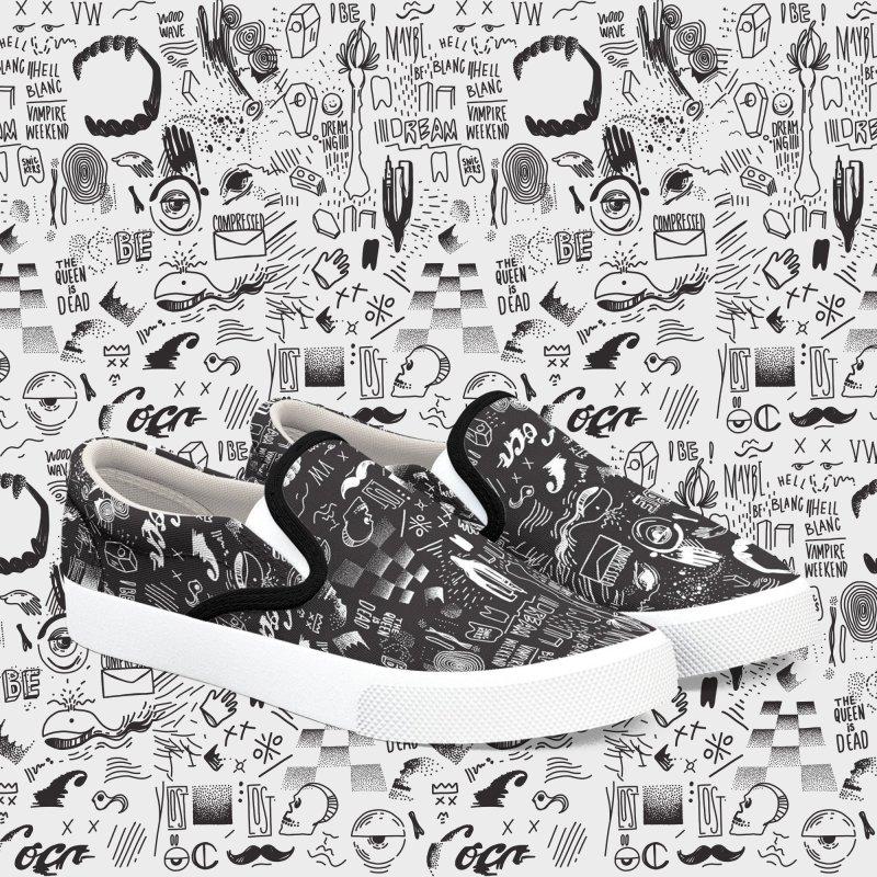 A Dream in Men's Slip-On Shoes by Jana Artist Shop