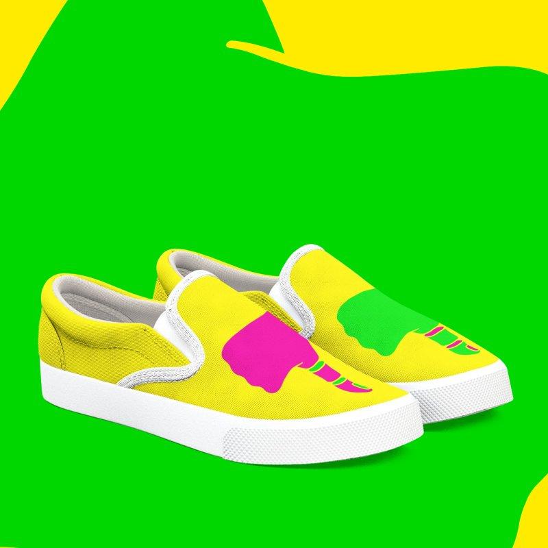 Dislike in Women's Slip-On Shoes by Jana Artist Shop