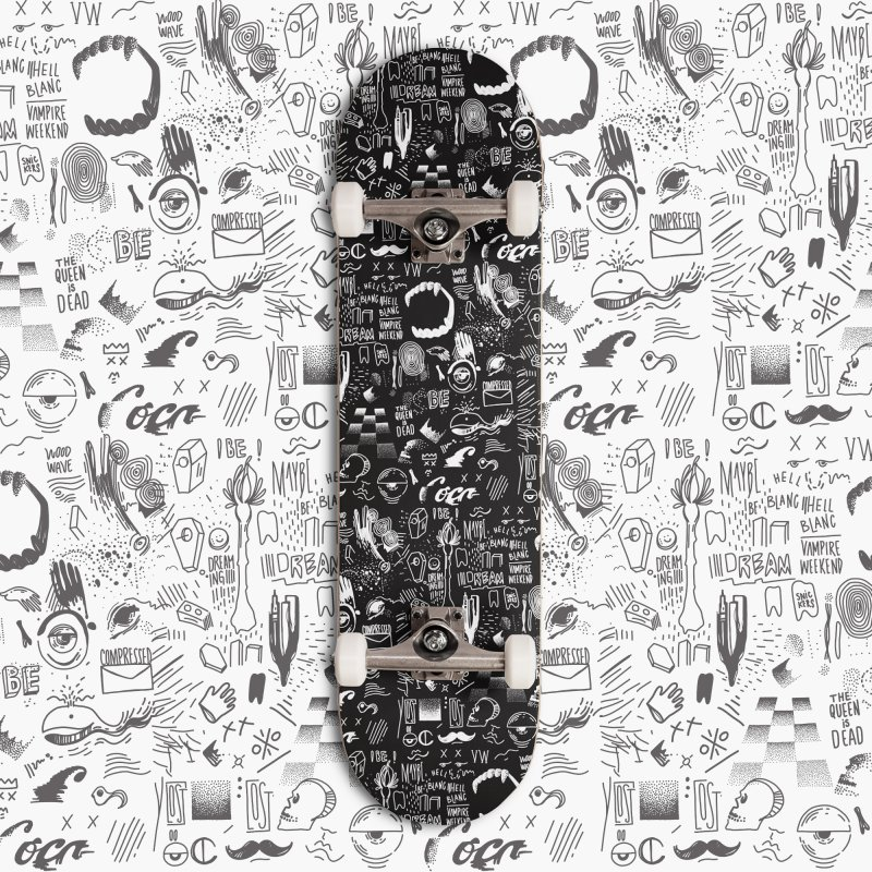 A Dream in Deck Only Skateboard by Jana Artist Shop