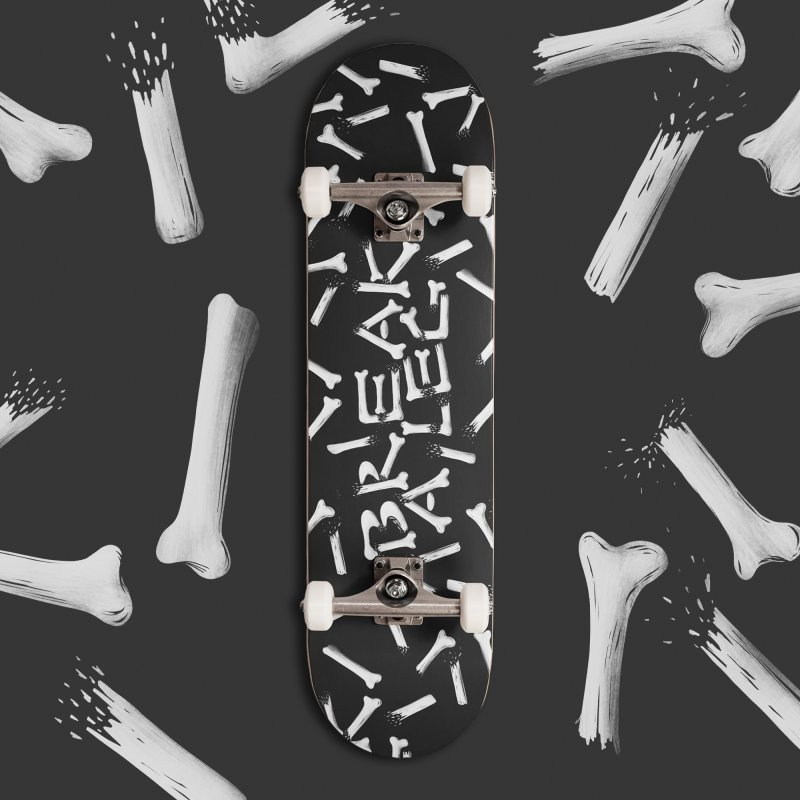 Break a leg in Deck Only Skateboard by Jana Artist Shop