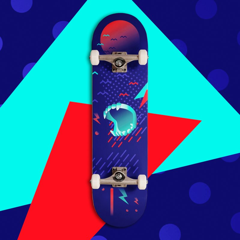 Interview With The Vampire in Deck Only Skateboard by Jana Artist Shop