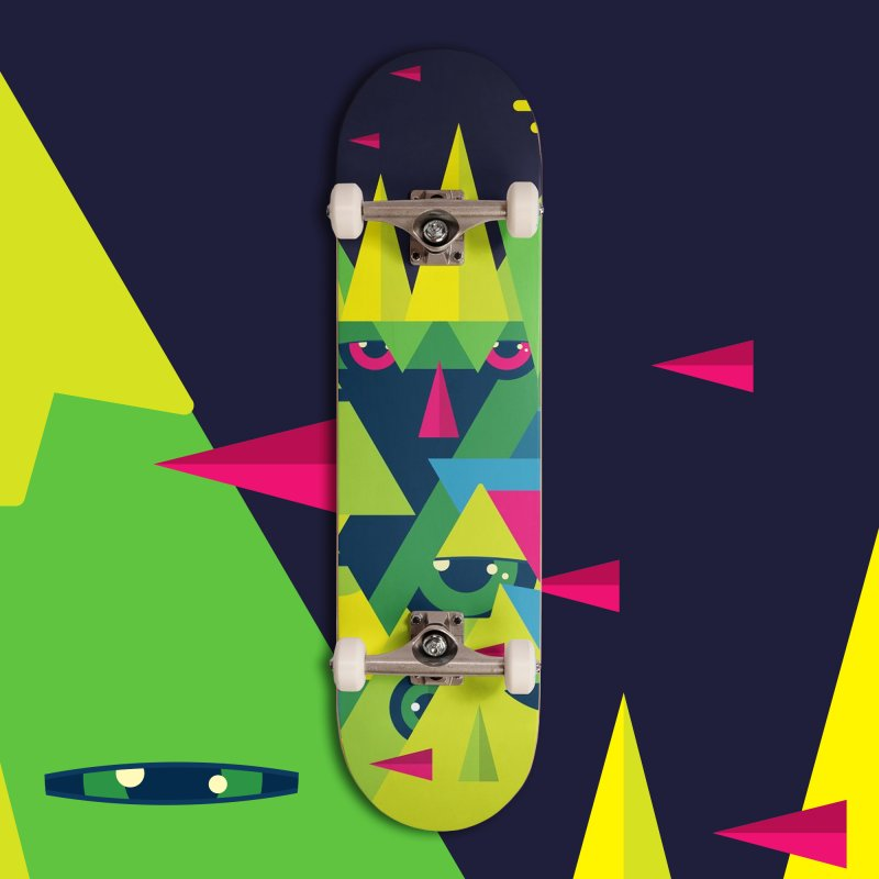 The Moment in Deck Only Skateboard by Jana Artist Shop