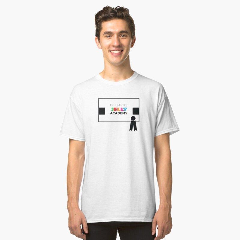 Jelly Academy Certificate Shirt by Jelly Marketing & PR