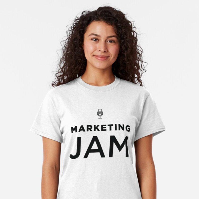Marketing Jam Logo Shirt by Jelly Marketing & PR