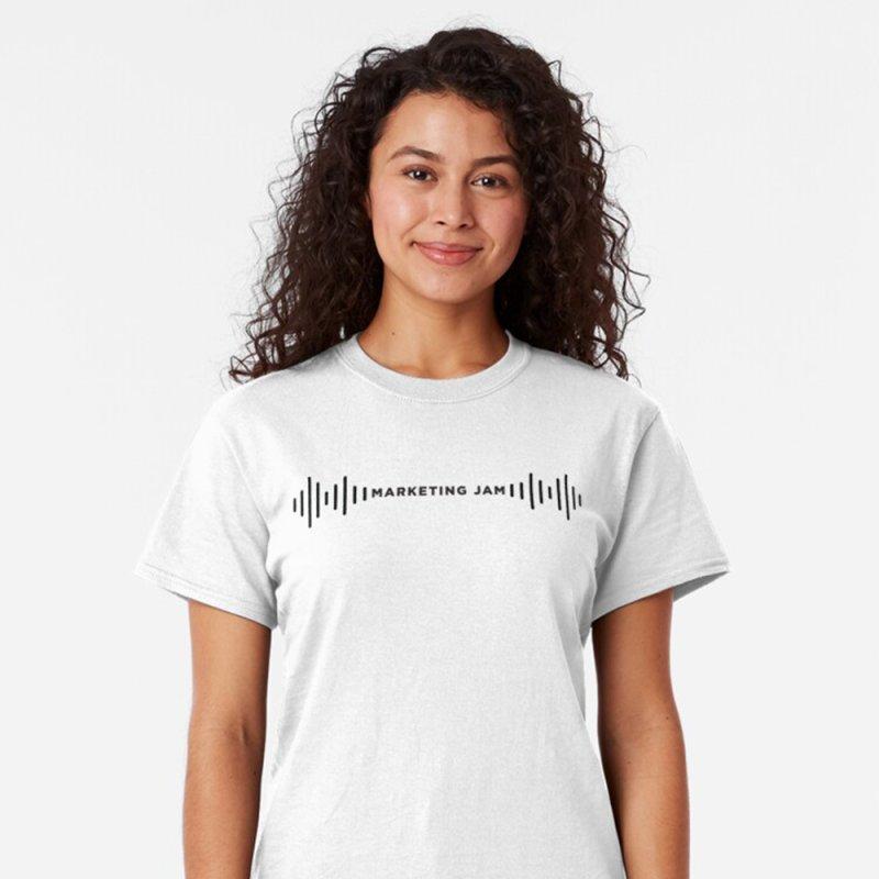 Marketing Jam Soundwaves Shirt by Jelly Marketing & PR