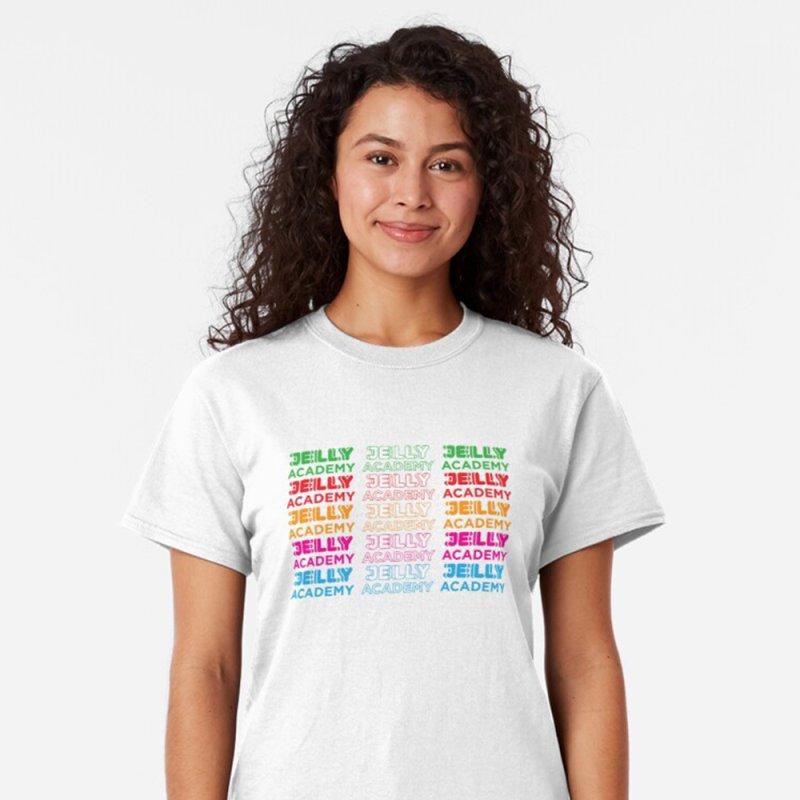 Jelly Academy Rainbow Shirt by Jelly Marketing & PR