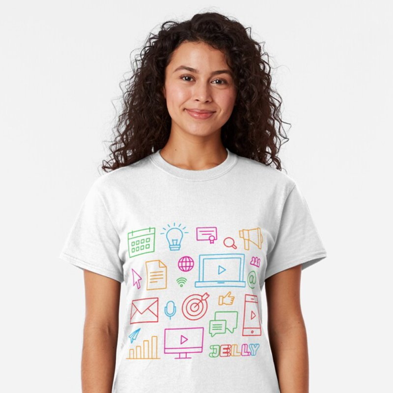 Jelly Marketing Icon Shirt by Jelly Marketing & PR