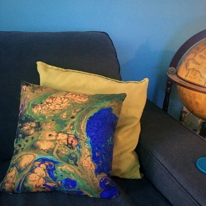 ninety1 in Throw Pillow by Jason Henricks' Artist Shop