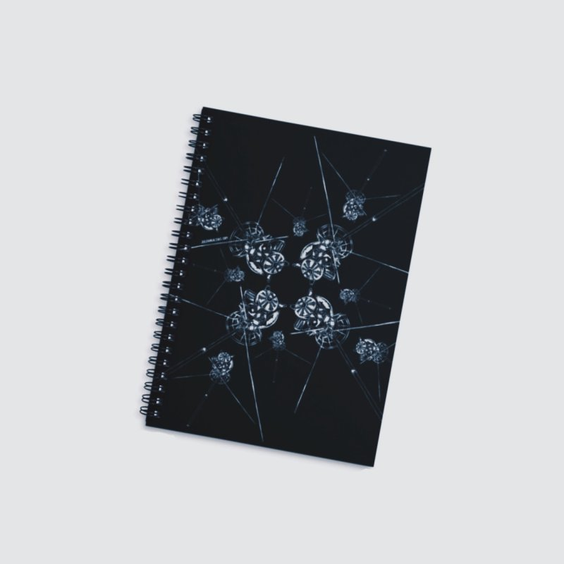 All the Cassini's in Lined Spiral Notebook by Juleah Kaliski Designs