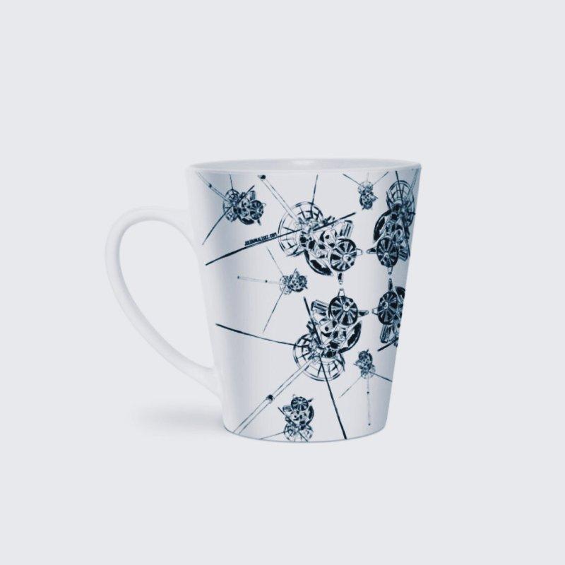 All the Cassini's in Latte Mug by Juleah Kaliski Designs