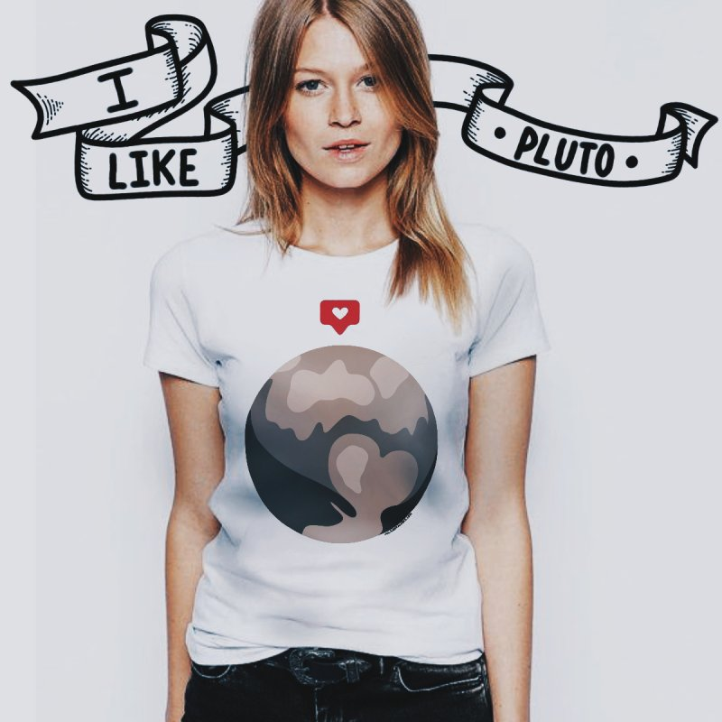 I like Pluto by Juleah Kaliski Designs