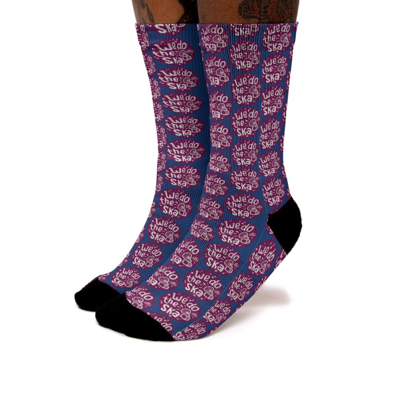 We Do The Ska in Men's Crew Socks by Jump Up Records