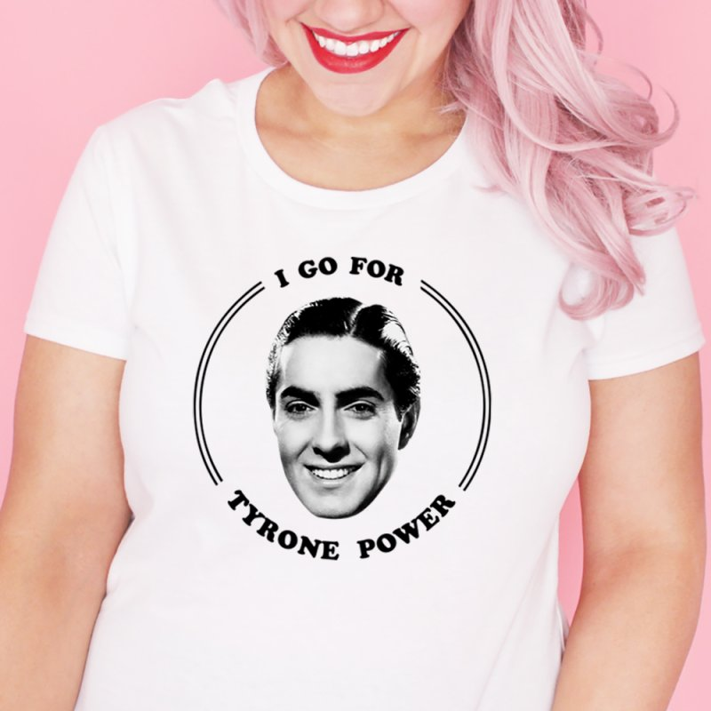 I go for Tyrone Power by Kate Gabrielle's Artist Shop