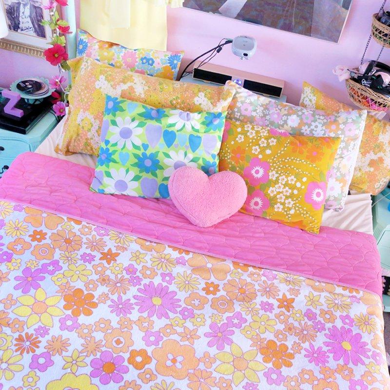 Vintage #26 in Fleece Blanket Blanket by Kate Gabrielle's Artist Shop