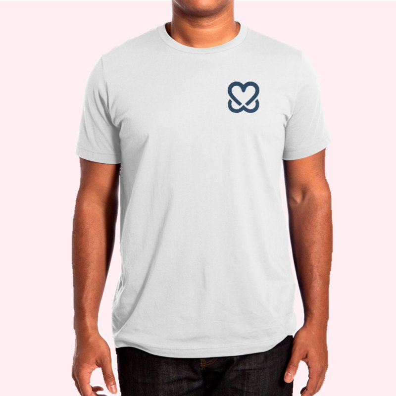 F4P in Men's Regular T-Shirt White by Keep a Breast Foundation