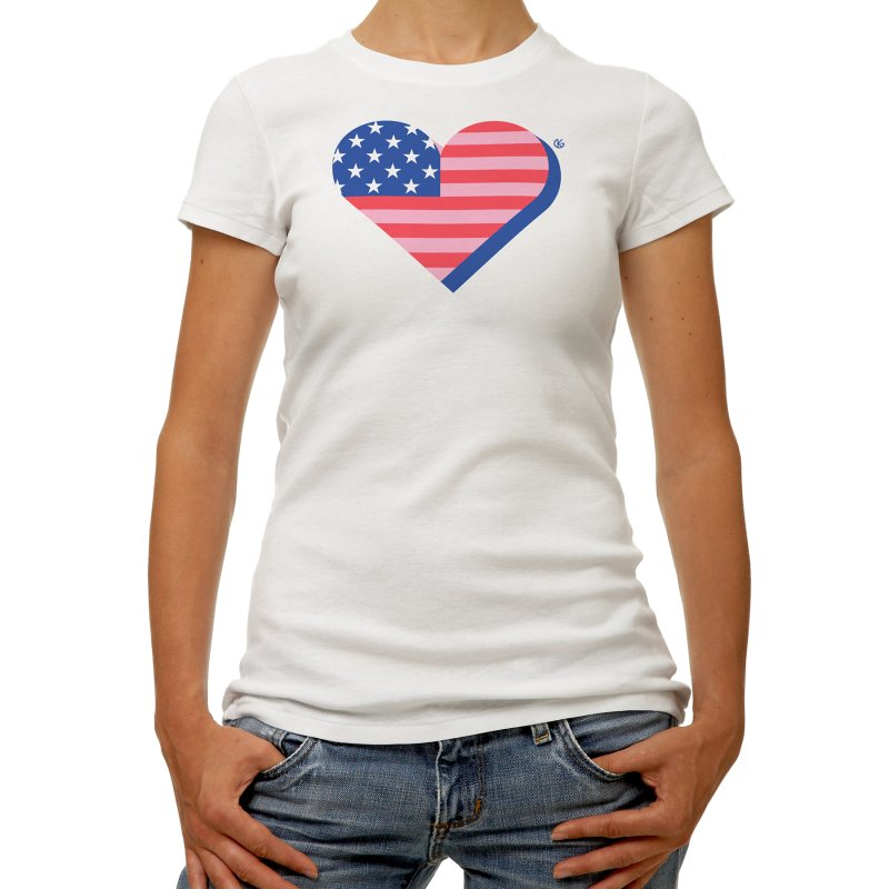 Flag Heart by Kevin's Pop Shop