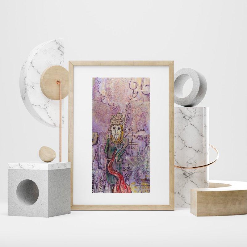 Judas Iscariot (Apostles Series) by Krist Norsworthy Art & Design