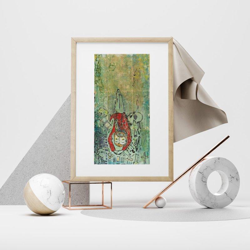 St. Peter (Apostles Series) by Krist Norsworthy Art & Design