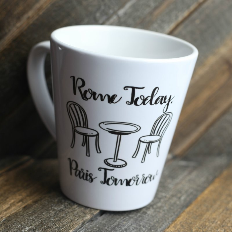 Rome Today Latte Mug by The Official Lattes, Life & Luggage Shop