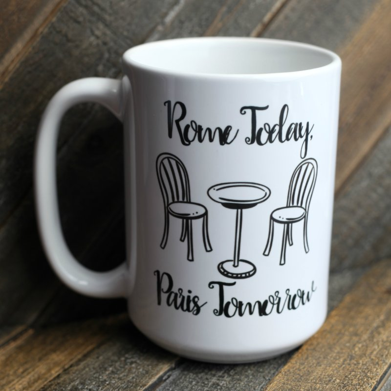 Rome Today Mug by The Official Lattes, Life & Luggage Shop