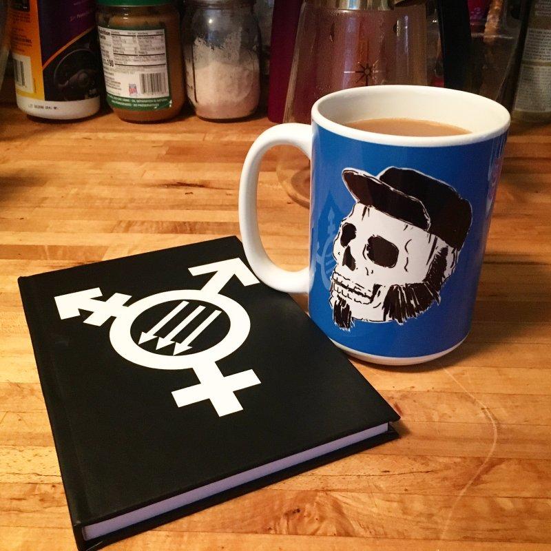 Transfeminist Antifa in Blank Journal Notebook by Punk Rock Girls Like Us