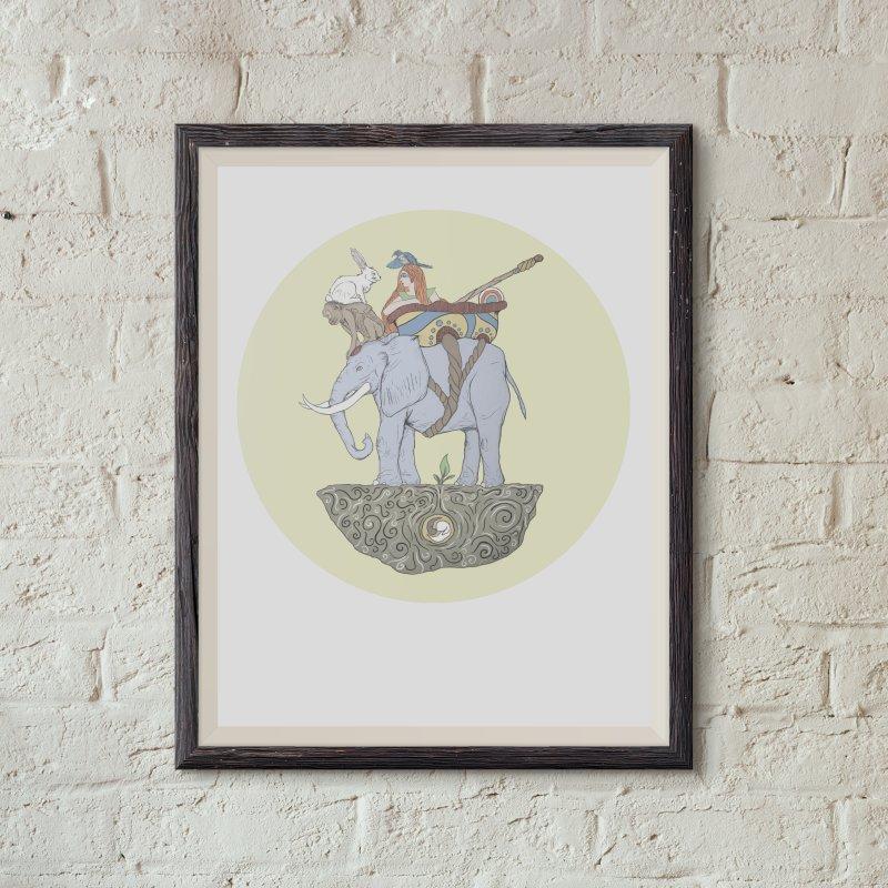 Friendship  in Fine Art Print by Manaburn's Shop