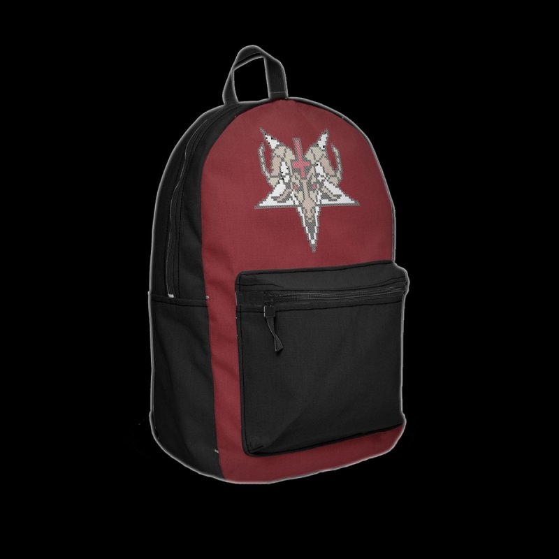 Pentagram cross stitching in Backpack by marpeach's Artist Shop