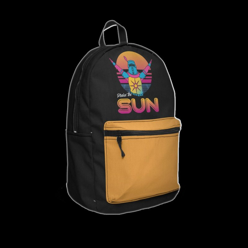 Praise the sun in Backpack by marpeach's Artist Shop
