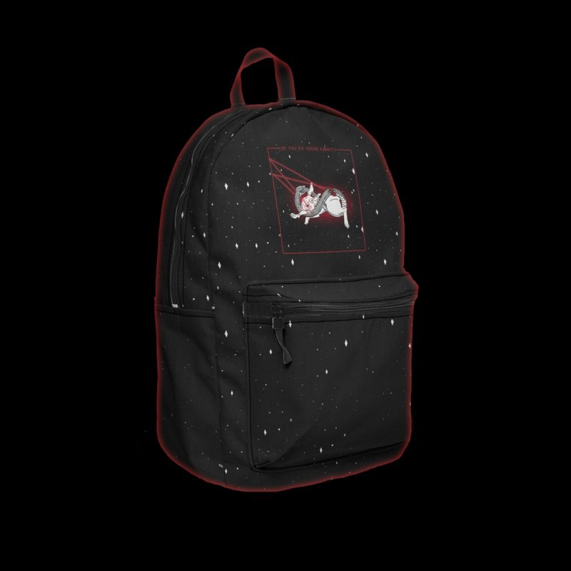 Bait in Backpack by marpeach's Artist Shop