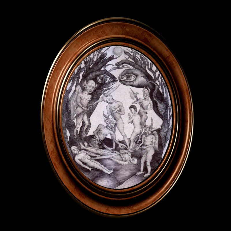 my demons in Fine Art Print by marpeach's Artist Shop