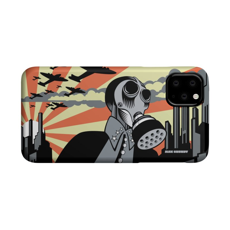 WHEN THE BOMB DROPS cell phone case by Max Grundy Design's Artist Shop