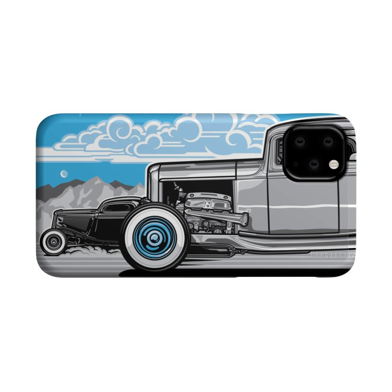 TRI POWER cell phone case by Max Grundy Design's Artist Shop