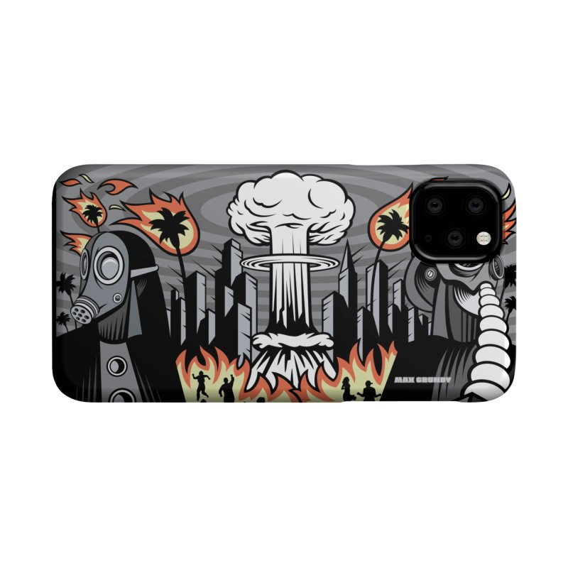 NUCLEOMITUPHOBIA cell phone case by Max Grundy Design's Artist Shop