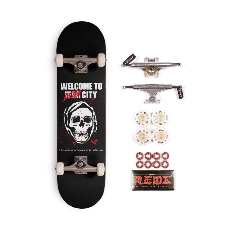 Death City in Deck Only Skateboard by MAXIMOGRAFICO — shop