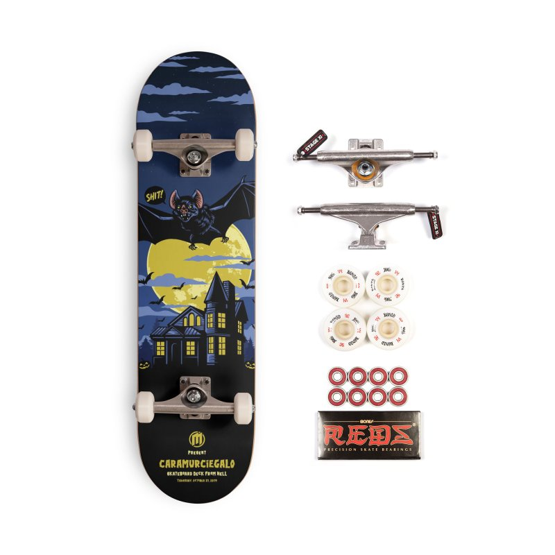Caramurciegalo in Deck Only Skateboard by MAXIMOGRAFICO — collection