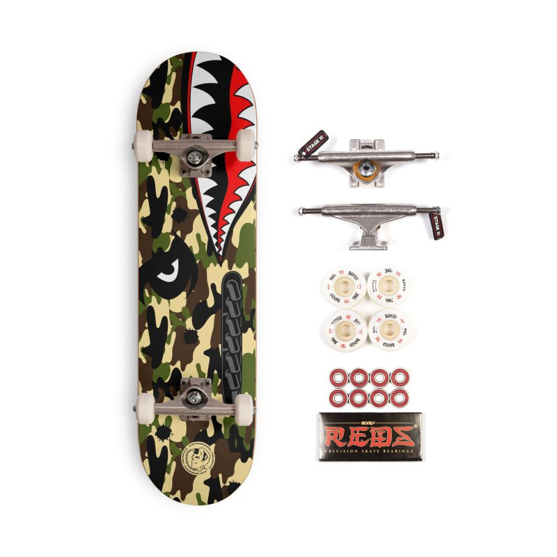 WWII v.2 in Deck Only Skateboard by MAXIMOGRAFICO — collection