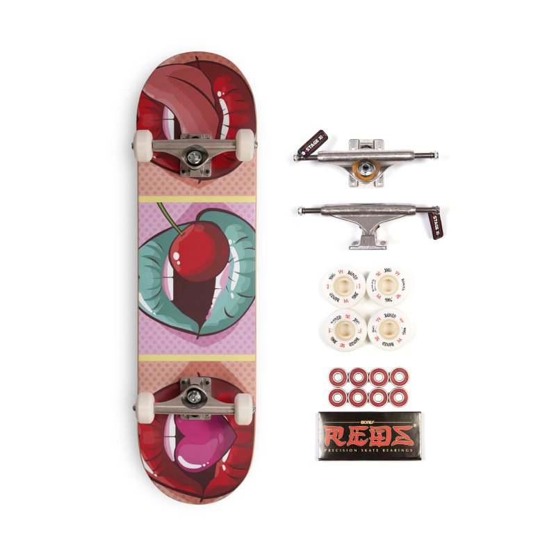 Sweet Lips in Deck Only Skateboard by MAXIMOGRAFICO — collection