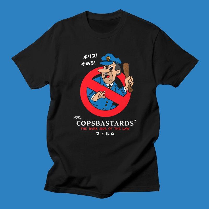 CopsBastards in Men's Regular T-Shirt Black by MXM — ltd. collection